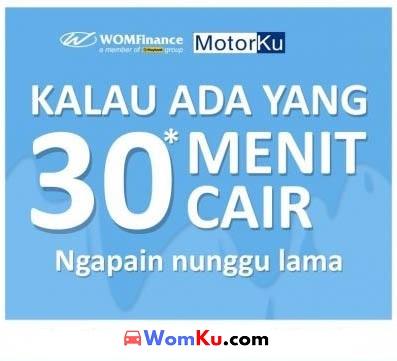 Gadai Bpkb Motor Di Wom Finance Proses Cepat 30 Menit Cair